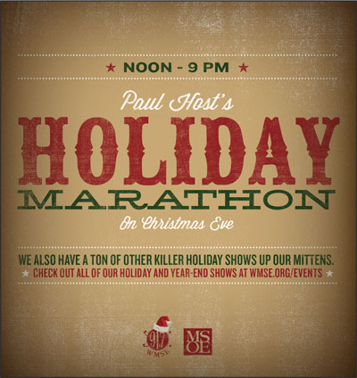 Paul Host's Annual Holiday Marathon