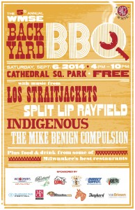 WMSE's 5th Annual Backyard BBQ @ Cathedral Square Park | Milwaukee | Wisconsin | United States