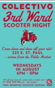 Colectivo Third Ward Scooter Night @ Colectivo Coffee - Third Ward | Milwaukee | Wisconsin | United States