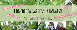 Concordia Gardens Farmraiser  @ Concordia Gardens | Milwaukee | Wisconsin | United States