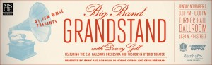 WMSE presents Big Band GRANDSTAND with Dewey Gill - Feat. The Cab Calloway Orchestra @ Turner Hall Ballroom    Milwaukee   Wisconsin   United States