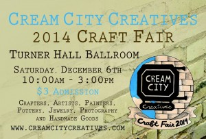 Cream City Creatives Craft Fair @ Turner Hall Ballroom | Milwaukee | Wisconsin | United States