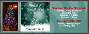 Festival of Trees And Music  @ Wisconsin Conservatory of Music | Milwaukee | Wisconsin | United States