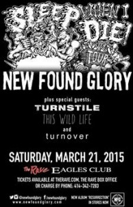 WMSE Presents New Found Glory @ The Rave / Eagles Club | Milwaukee | Wisconsin | United States