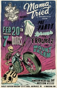 interview: Trouble (for the Mama Tried pre-party) @ WMSE | Plymouth | Wisconsin | United States