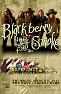 WMSE Presents Blackberry Smoke @ The Rave  | Portage | Wisconsin | United States
