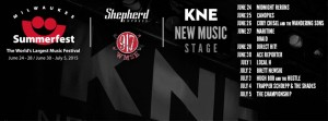 KNE Stage Summerfest Line Up @ Summefest  | Redondo Beach | California | United States