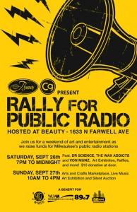 Rally For Public Radio @ Beauty | Milwaukee | Wisconsin | United States