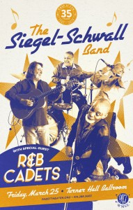 35 Anniversary Event - Siegel-Schwall Band + R&B Cadets @ Turner Hall Ballroom  | Milwaukee | Wisconsin | United States
