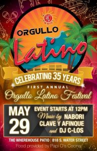 Orgullo Latino Festival @ Hot Water Wherehouse - Live Broadcast @ Hot, Water Wherehouse | Milwaukee | Wisconsin | United States