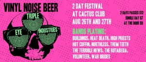 "Triple Eye Industries ""2nd Annual"" Fest 2016 @ Cactus Club 