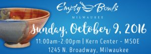 Empty Bowls @ Kern Center | Milwaukee | Wisconsin | United States