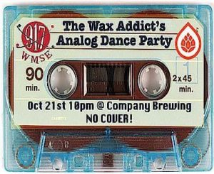 The Wax Addicts Analog Dance Party @ Co mpany Brewing  | Milwaukee | Wisconsin | United States
