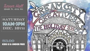 Cream City Creatives Holiday Fair @ Turner Hall Ballroom  | Milwaukee | Wisconsin | United States