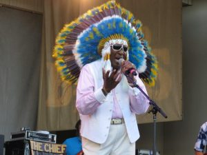 Eddy Clearwater at 2016 Chicago Blues Festsm