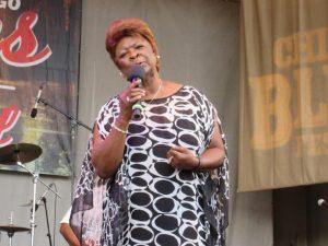 Irma Thomas at 2016 Chicago Blues Festivalsm