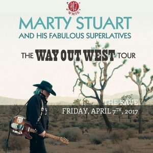 "The Chicken Shack Presents ""Marty Stuart & The Fabulous Superlatives"" @ The Rave  