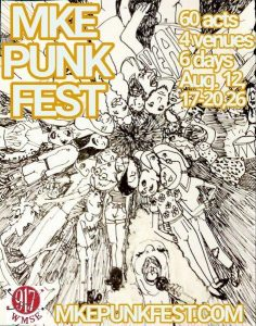 WMSE Presents MKE Punk Fest @ All Over MKE