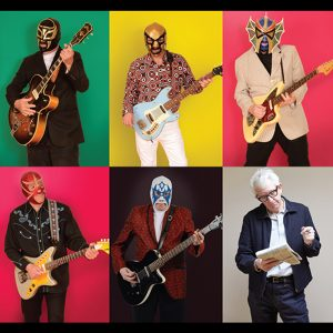 Nick Lowe's Quality Rock 'n' Roll Revue featuring Los Straitjackets