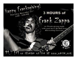 Franksgiving @ WMSE - 91.7FM