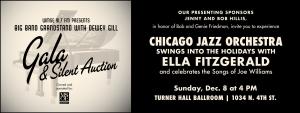 WMSE's Big Band Grandstand w/ Dewey Gill - Ella Fitzgerald & Joe Williams @ Turner Hall Ballroom