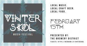 Vinterskol Musik Festival @ The Brewery District