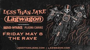 LEss Thank Jake, Lagwagon & Masked Intruder @ The Rave