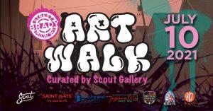 Brady Street Art Walk - Boogie Bang Gang Live Broadcast @ Rochambo