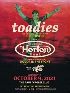"Toadies ""Rubberneck"" Tour w/ Reverend Horton Heat @ The Rave"